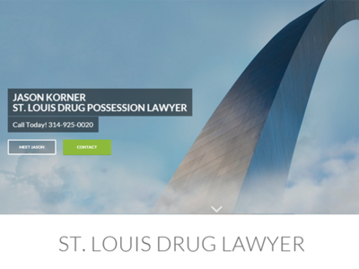 St. Louis Drug Possession Lawyer web development web design wordpress