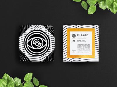 Mirage Cosmetics branding packaging mirage cosmetics