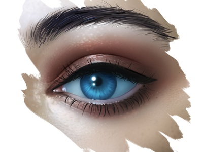 Eye Illustration digital art realistic painting art digital illustration eye