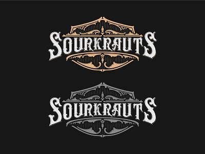 SOURKRAUTS procreate illustrator graphic merch apparel vector high details hand lettering calligraphy brand details lettering typography