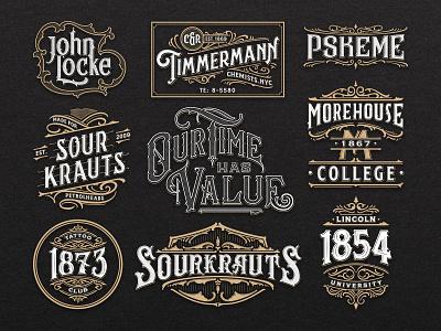 Hand Lettering vol. 3 design artwork vector graphic hand lettering calligraphy brand details lettering typography