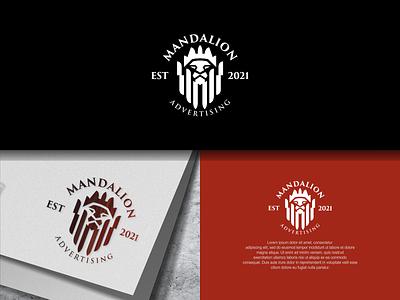 Lion Logo graphic design advertising brand logos lion logo lion illustration design branding vector psd letter a logo