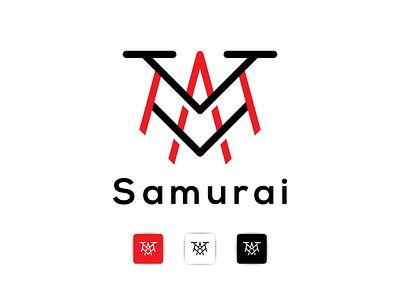 samurai logo graphic design logoinspiration modaltampang overdesignnn logoawesome logobadge finance initial identity bulding brand logotipo logotypes logos logo lettering letter