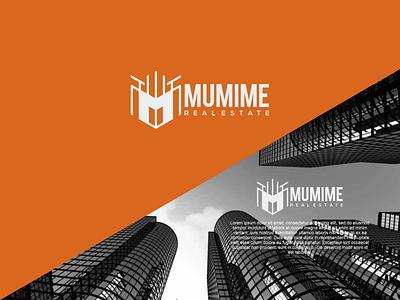 Mumime Logo logos realestate logo realestate mumime logo illustration letter f letter a design branding vector psd logo