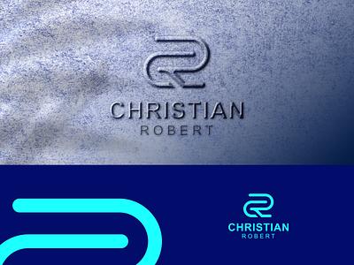 CHRISTIAN ROBET LOGO graphic design logoinspiration overdesignnn logoawesome logogram-id logobadge finance initial identity bulding brand logotipo logotypes logos logo