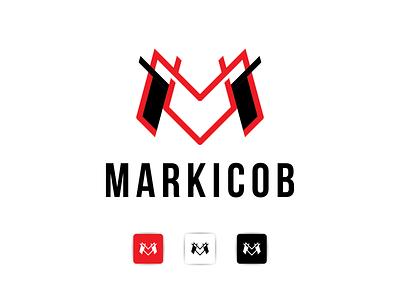 MARKICOB LOGO graphic design overdesignnn logoawesome logobadge finance initial identity bulding brand logotipo logotypes logos logo
