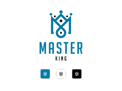 MASTER KING graphic design identity bulding brand logotipo logotypes ux ui illustration letter a design psd branding vector logos logo