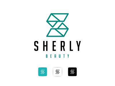 sherly beauty graphic design logoinspiration logoawesome logogram-id logobadge finance identity bulding brand logotipo logotypes logos logo