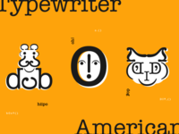 American Typewriter Faces