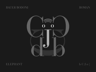 Bauer Bodoni Elephant