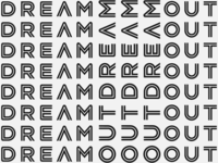 Outdream logo pattern