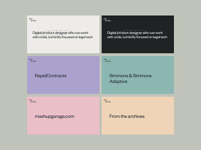 MetaImages • New website • arisacoba.com portfolio design metatags
