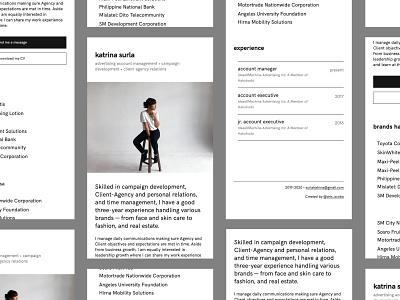 Folio • katrinasurla.com -- Mobile portfolio landingpage css