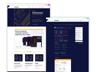 Noctua - Website Concept website web branding logo typography ux