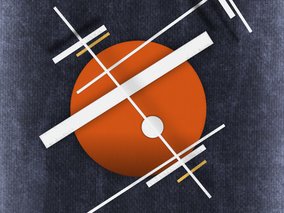 'Circlecrossed 03' graphicdesign geometricabstraction art cubofuturism illustration artwork digitalgraphic avantgarde suprematism