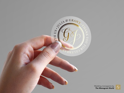 Personal wedding monograms for stickers hochzeit hochzeitsmonogramm monogramm monogramworld handwriting vector illustrator logo template letterpress gold floral initials wedding business business card calligraphy hand lettering marriage wedding monogram monogram wedding