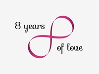 8 years of love