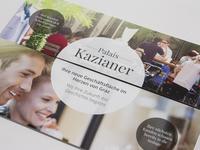 Mailing Palais Kazianer