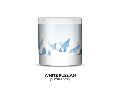 Nature Cocktail 6: «White Russian (on the rocks)»