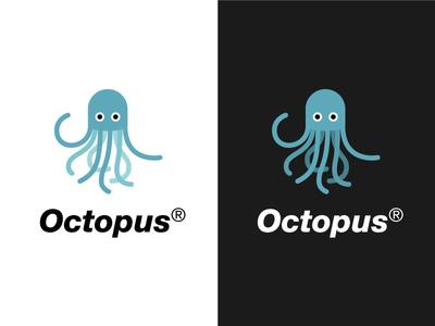 Octopus friendly octopus logo