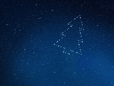 Christmas stars cosmic dark constellation sky night stars tree christmas