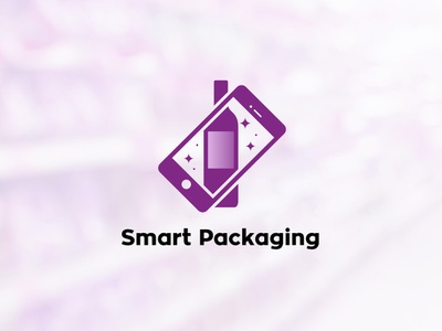 Smart Packaging App Icon smartphone packaging icon augmented reality app animation
