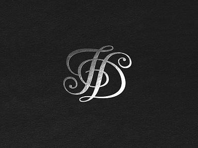 Monogram FD daniela florian fd typography custom type monogram
