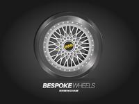 Bespoke Wheels Birmingham Logo Design