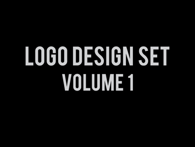 logo design set vol 1