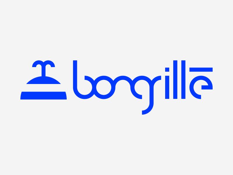 Bongrillé design logo