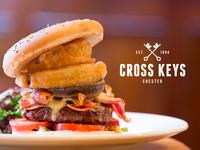 Cross Keys - Hero & Logo