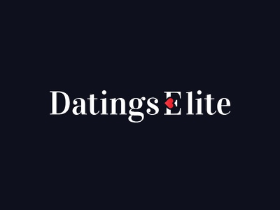 Dating Website - logo elite heart logo passion sinking find love romance site web website dating