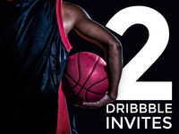 2 Dribbble Invites [closed]