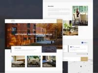 Lesni Hotel – web UI
