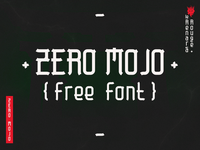 Zero Mojo (free font)