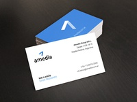 Amedia - Business Cards