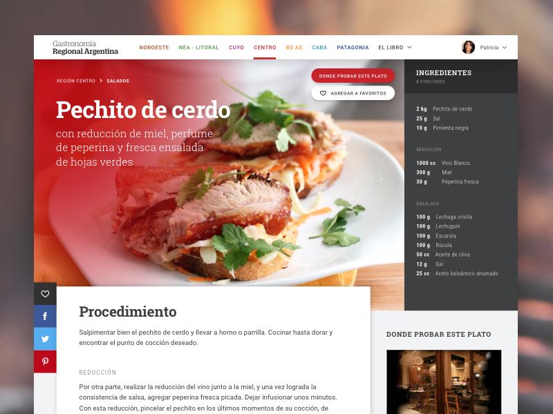 Recipe - Argentina's Regional Gastronomy