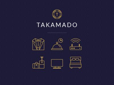 Takamado - Icons
