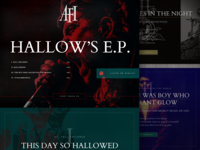 AFI - Hallows EP Lyric Site