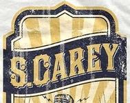 First Draft of Tour Shirt for Bon Iver drummer S.Carey
