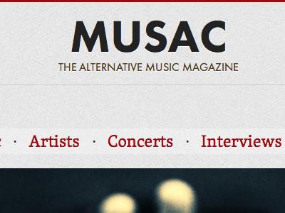 Musac skolar futura red gray music