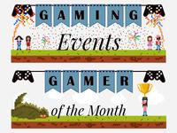 Web Banners for Game Informer Newsletter
