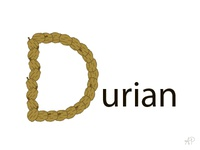 D is for Durian