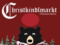 Christkindlmarkt - Christmas Market Poster