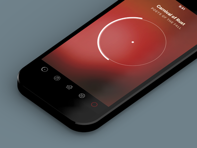 BeoLink S aalto university tab bar now playing bang  olufsen icons blur music application control remote
