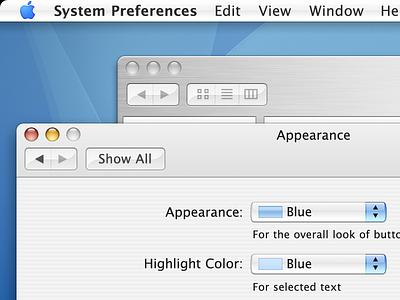 Mac OS X Tiger @ 2x brushed metal mac os x recreation retina aqua fun mockup apple
