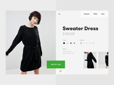 ASOS-shop re-design concept market photo girl web site ux ui design e-commerce shop