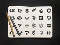 2014 Logo Sketches