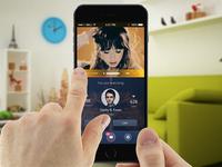 Mobile Player UI