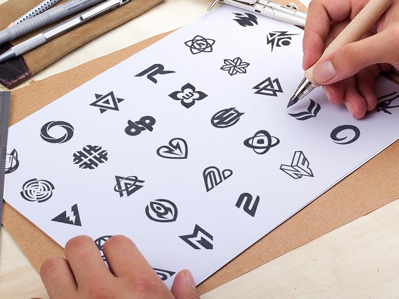 Logo Sketches logos branding hire designer 2015 logo design san francisco sf